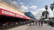 SIDEWALK CAFE AND VENICE BOARDWALK