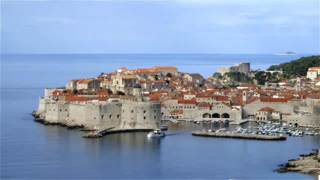 DUBROVNIK FORTRESS AND PORT