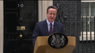 ABLA583A BBC News rushes lib/cameron downing st speech/1430/8/5