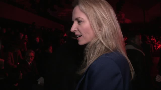 DELPHINE ARNAULT XAVIER NIEL | DIOR FASHION SHOW | FRONT ROW | MENSWEAR FALL WINTER 2016 | PARIS FASHION WEEK