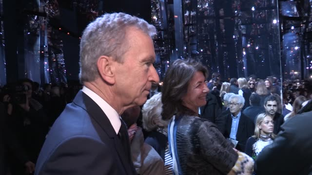 BERNARD ARNAULT | DIOR FASHION SHOW | FRONT ROW | HAUTE COUTURE 2016 | PARIS FASHION WEEK