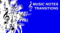 """Transizione VIDEO SET di note musicali """""""