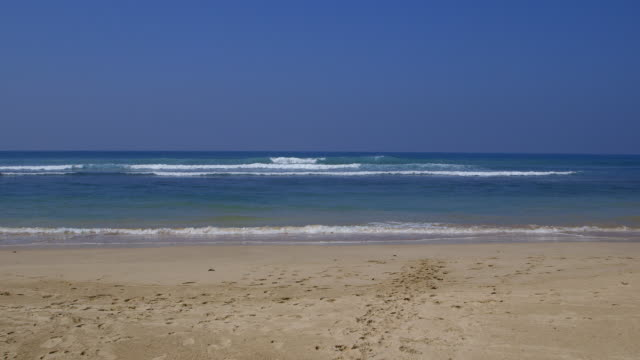 INDIAN OCEAN WAVES AND BEACH