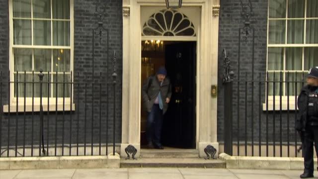 ABLA583A BBC News channels rushes boris/leaving downing street/1031/17/2