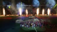 THE FC BARCELONA ORGANIZES A PARTY FOR EVERYTHING HIGH IN THE CAMP NOU FOR PRESENT HIS TWO GAINED TITLES THIS SEASON TO HIS INTEREST ALL THE PLAYERS...