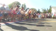 FESTIVE START OF SUMMER RUNNING RACE