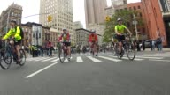 THOUSANDS HEAD OUT TO THE STREETS OF MANHATTAN FOR THE FIVE BORO BIKE TOUR