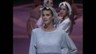 BICENTENNIAL FASHION PARADE SALUTE TO THE WOOL INDUSTRY / NIGHT PRINCE CHARLES AND PRINCESS DIANA ARRIVING / PARADE CATWALK / INTERVIEW KERRY YATES /...
