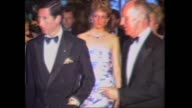 'NEWSWORLD' PRESENTER CLIVE ROBERTSON INTRO 'A WONDERFUL PARTY IN MELBOURNE TONIGHT A ROYAL BALL IN HONOUR OF THE PRINCE AND PRINCESS OF WALES THOSE...