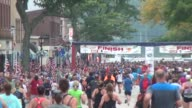 FINISH LINE OF A 10K