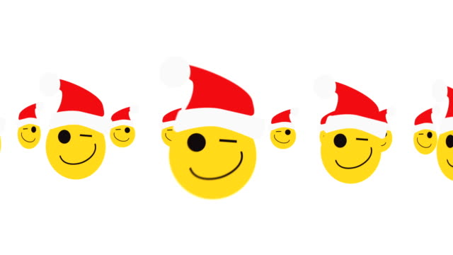 EMOTICONS CHRISTMAS LOOP
