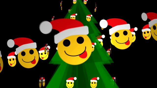 EMOTICONS KERSTBOOM