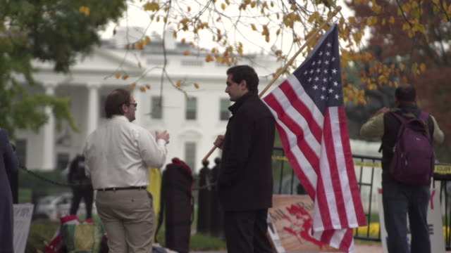 TURKEY PROTEST AT THE WHITE HOUSE