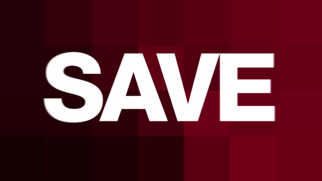 SAVE (Advertising Graphics)