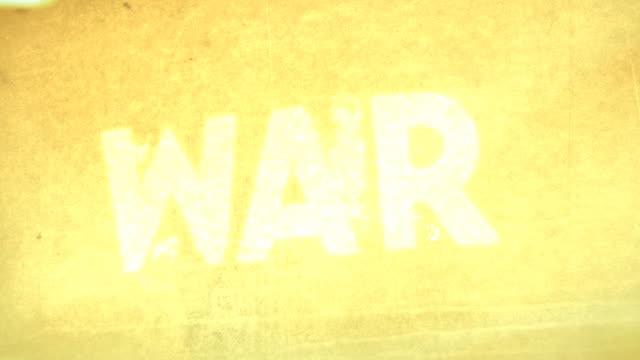 WAR, BATTLE, COMBAT (Titles)
