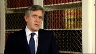 100th British soldier killed in Afghanistan this year Location Unknown INT Gordon Brown MP interview SOT everyone is mourning the loss of a soldier...