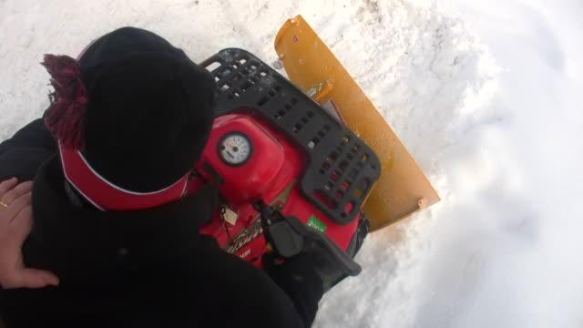 HD 1080i ATV Snow Plowing 4