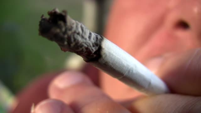 HD 1080i Closeup of Cigarette 4