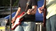 HD 1080i Electric Guitar Player Outdoor Concert Austin Texas 3