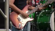 HD 1080i Electric Guitar Player Outdoor Concert Austin Texas 8