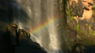 1080i Hogsback South Africa Madonna and Child Waterfall with Rainbow