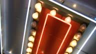 HD 1080i Las Vegas Neon Lights flickering 10