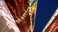 HD 1080i Las Vegas Neon Lights flickering 17