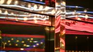 HD 1080i Las Vegas Neon Lights flickering 20