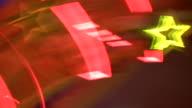 HD 1080i Las Vegas Neon Lights flickering 55