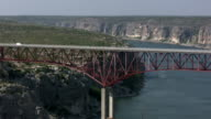HD 1080 i camion andando over Texas, ponte 5