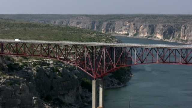 HD 1080i Truck going over Texas bridge 5