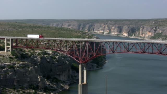 HD 1080i Truck going over Texas bridge 7