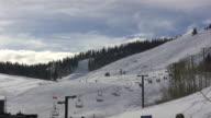 HD 1080i Wide Shot of Ski Resort