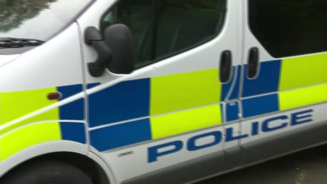 16yearold girl held after school welfare officer stabbed ENGLAND Lincolnshire Winterton EXT Police officer away towards entrance of Winterton...
