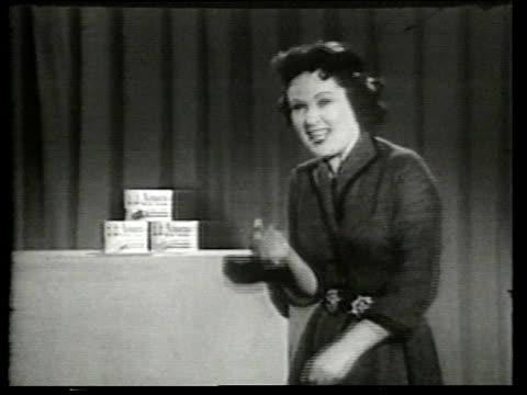 1950s MS Amazo Instant dessertcommercial