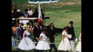 1950s High School Graduation Ceremony Home Movie
