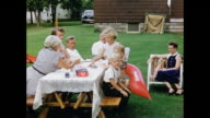 1950s Home Movie - Family Picnic