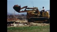 1960s Man operating bulldozer