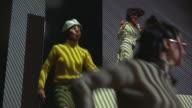 1960s MS LA Three go-go dancers in club