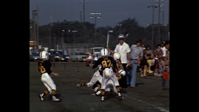 1970s Home Movie - Boys playing football
