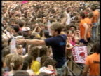 part 1 136651 2861986 S LAST CONCERT Wembley Wembley Stadium Mass screaming fans George Michael lookalike in crowd fan taken away after fainting from...