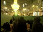 1st May 2000 WS Women praying in separate section of Saint Massoumeh shrine / Qum, Iran