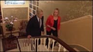 24th June 2012 Hedge fund billionaire George Soros interview at his London Home