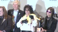 26th Annual Rock And Roll Hall Of Fame Induction Ceremony Press Room New York NY United States