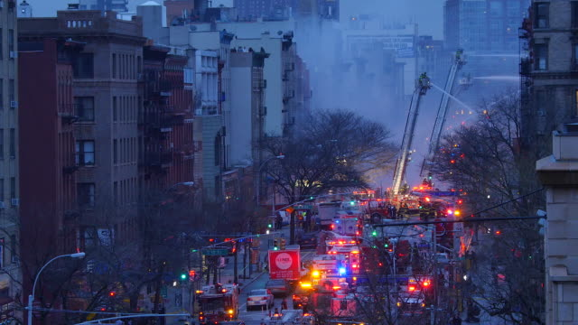 2nd Avenue buildings fire explosion and collapse on March 26 2015