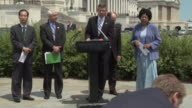 30Jun2010 MONTAGE USSouth Korea Free Trade Agreement hosted by US Rep Dave Reichert DWash Rep Bobby Bright DAla Rep Peter Roskam RIll Rep Dianne...