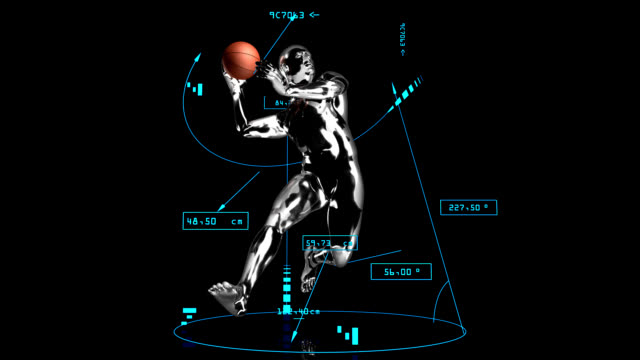 3d BASKET assist man with technical data