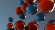 3d glass spheres HD