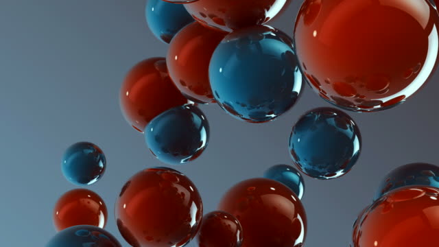 3d glass spheres HD
