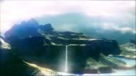 3 d paesaggio volo